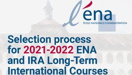 Selection Process for ENA and IRA Long-Term International Courses (Oct. (...)