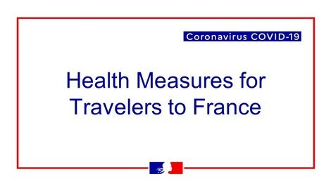 COVID-19 : Information on measures upon arrival in France