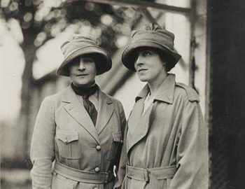 Photograph of Anne Morgan and Anne Murray Dike - JPEG
