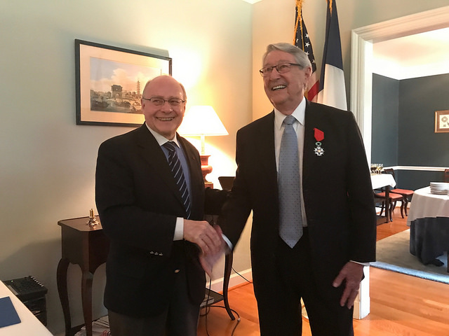 Max Cooper receives Legion of Honor