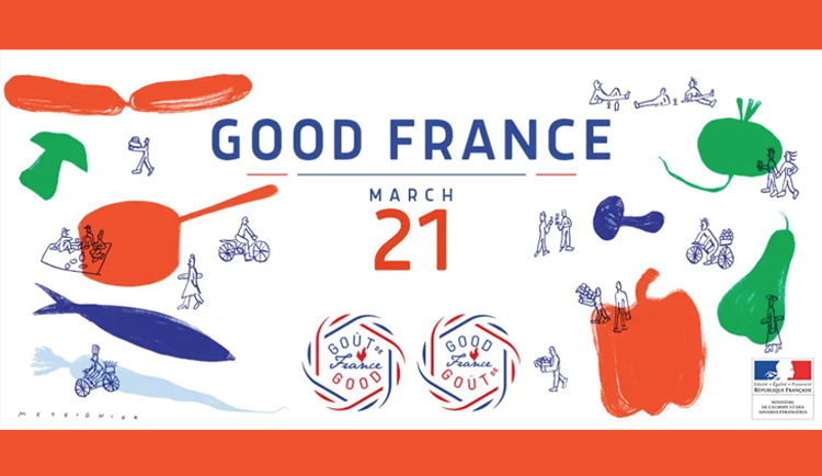 Eat like a French person: Goût de France 2019! - France in
