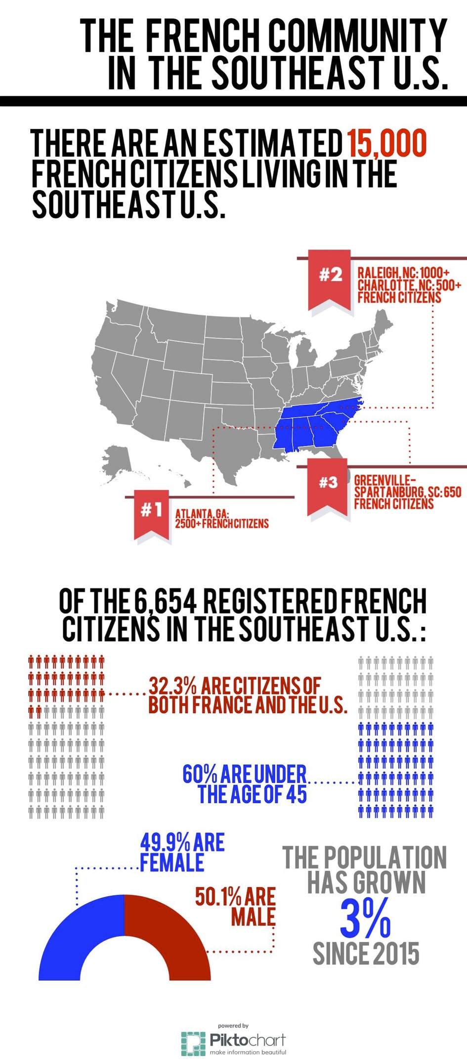 The French Community In The US Southeast France In The Southeast - Us southeast